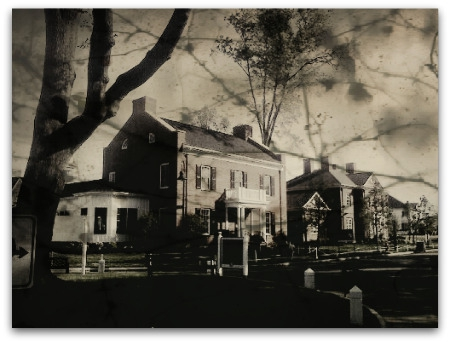 An old house in New Albany? New house doctored photo