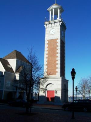 The Vietnam Veterans Clock Tower at Marna Bay