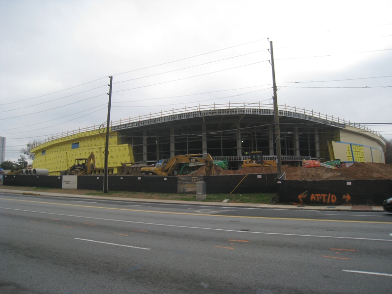 McCamish Pavilion Under Construction