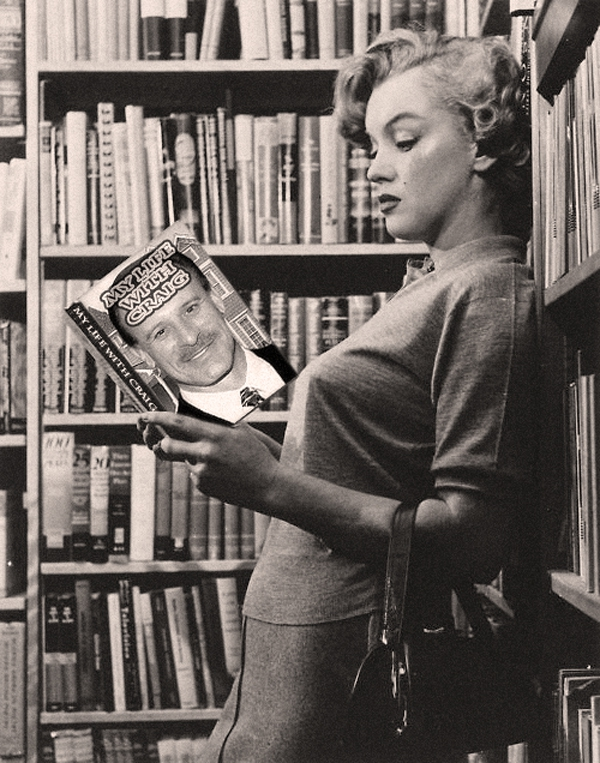 Everyone Knows a Good Book When They Read One. Marilyn Monroe! I