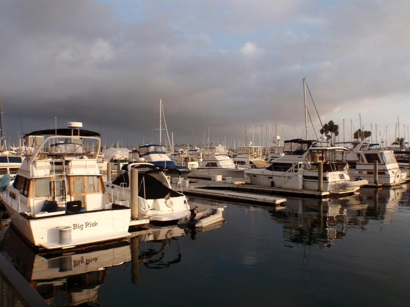 Marina Del Rey, CA by Endre Barath,Jr.