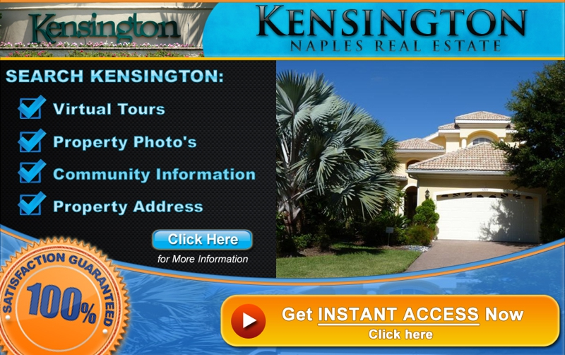 Kensington Naples Florida Homes For Sale