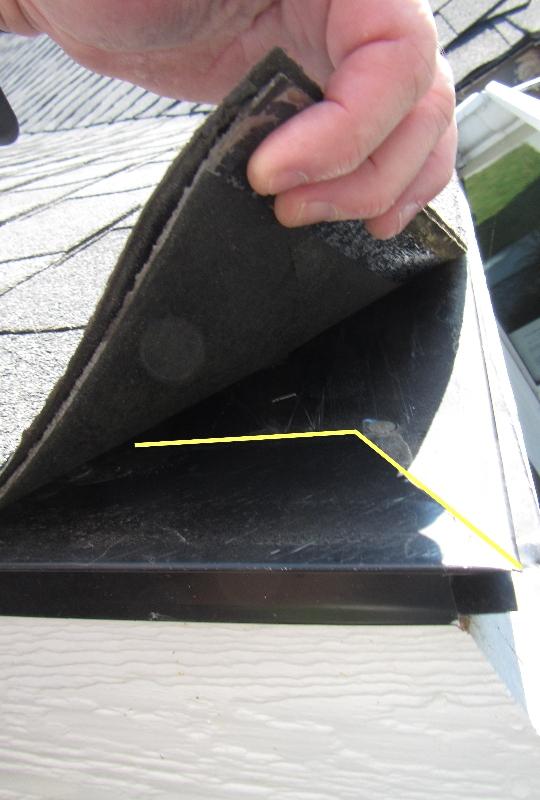 The Drop On The Drip Improper Drip Edge Flashing