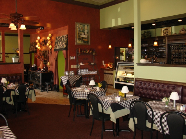 The Interior And Exterior Of Cafe Berlin Was Clean Inviting Lends Itself Well To Dinners Or Just Stop For A Gl Wine One Their