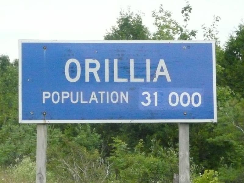 The City of Orillia Ontario, Canada Brought To You By Al and Peggy ...