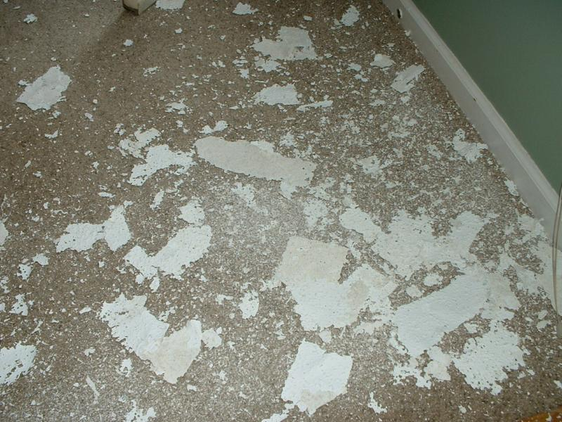 Selling Your Home Remove Those Popcorn Ceilings