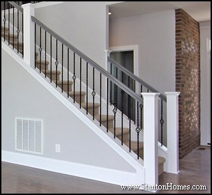 Ordinaire Designing Your Staircase: Post To Post Vs Over The Post | Staircase Design  Photos