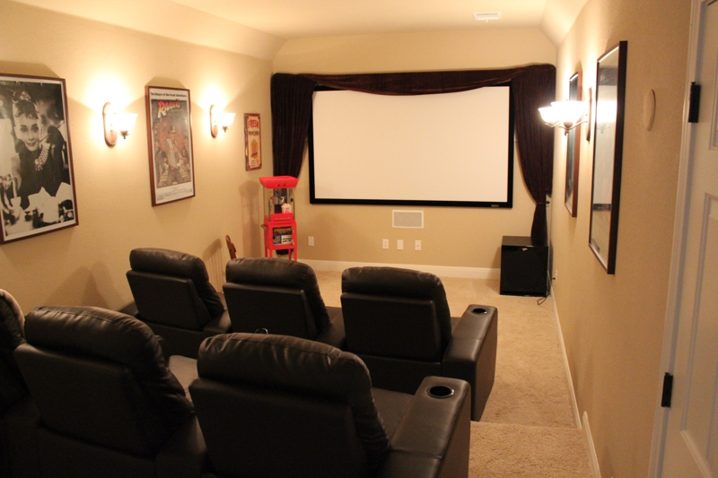 Steiner Ranch Austin TX Home for Sale Media Room