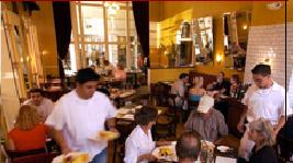 Busy restaurants