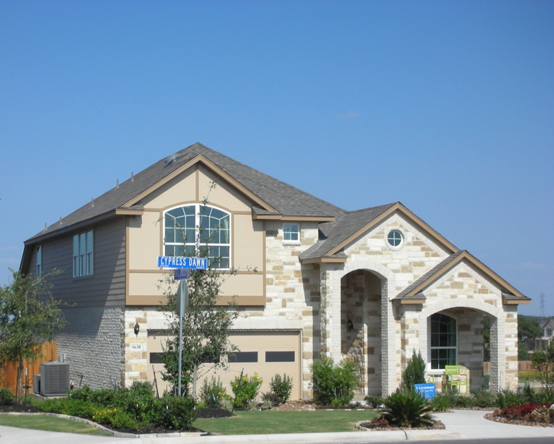 ... Adult community of Hill Country Retreat at Alamo Ranch. Model Home in ...