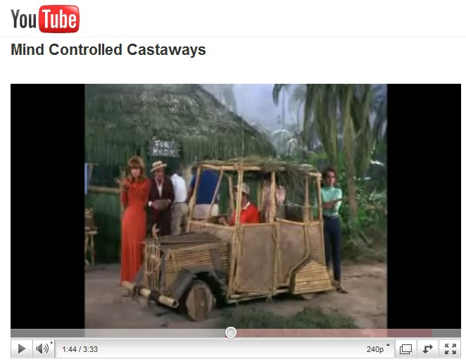 Gilligan's Island - Mind Controlled Castaways