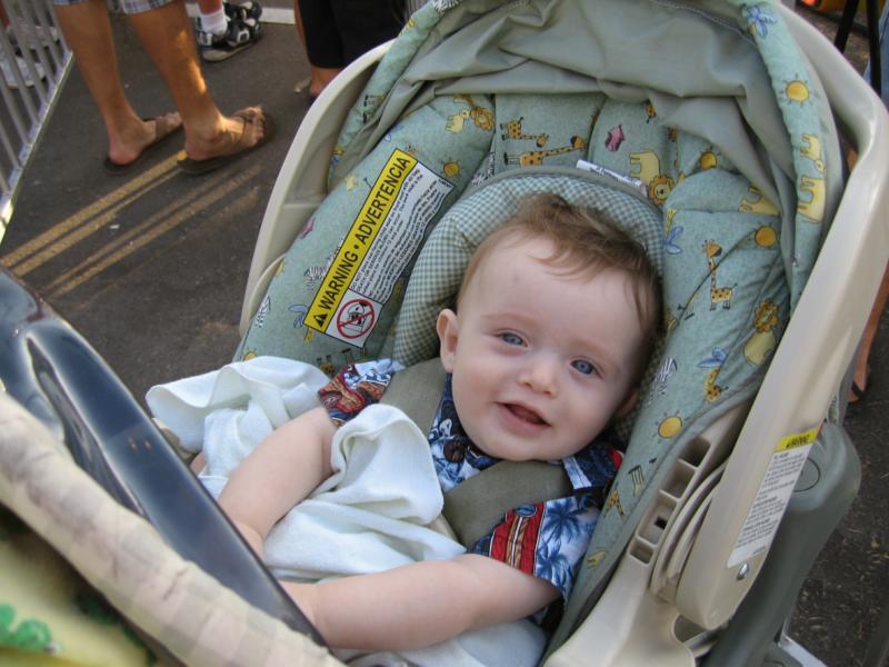 Dylan waiting
