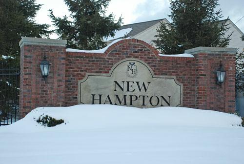 New Hampton Broadview Heights Ohio The New Hampton neighborhood in Broadview