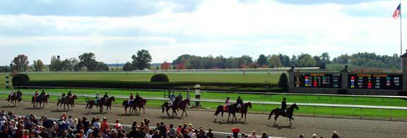Keeneland Race Track Bluegrass Stakes Lexington ky Thoroughbred racing and sales