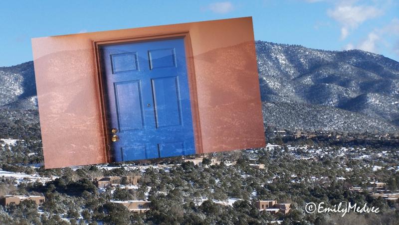 Unique Santa Fe Real Estate: FAQ Why Blue Doors? CI09