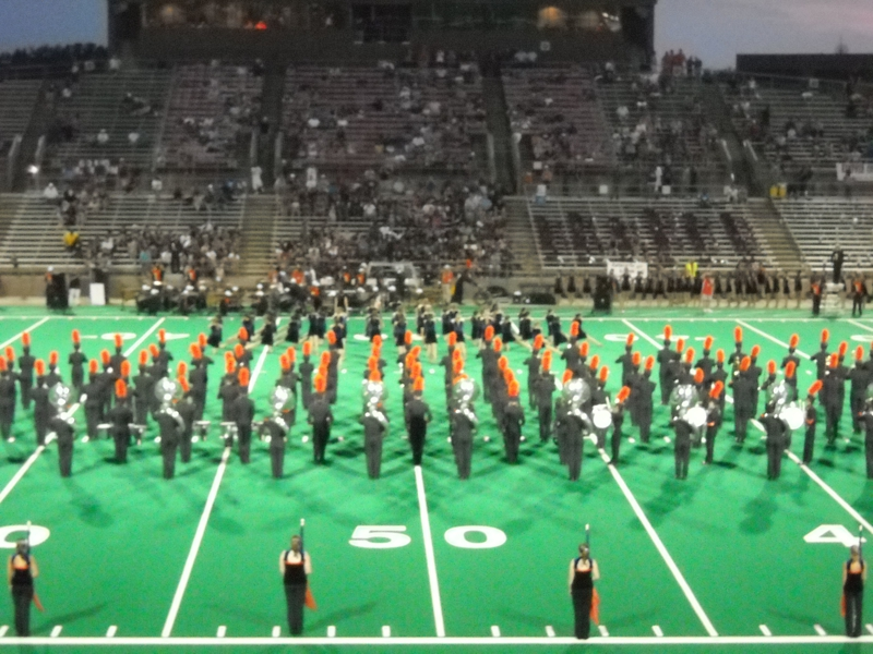 Seven Lakes High School Marching Band