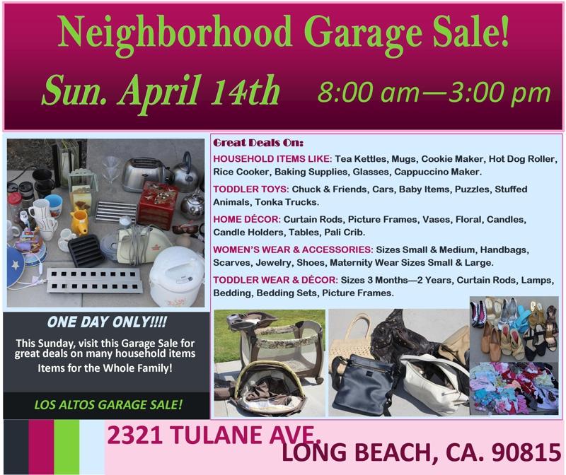 Los Altos Neighborhood Sunday