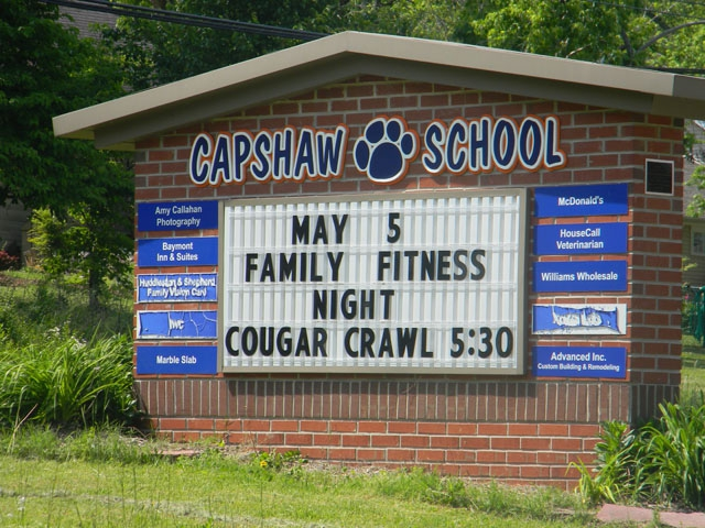 cookeville capshaw school