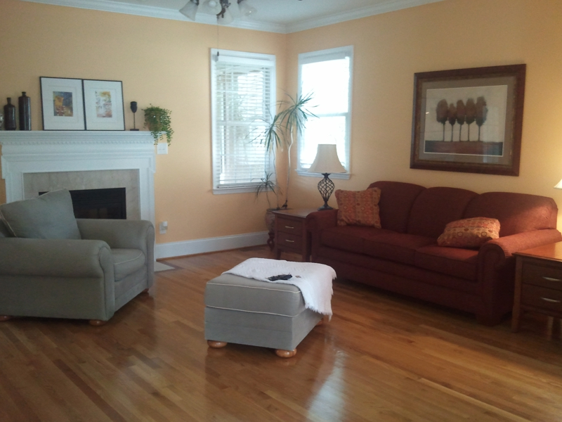 Gleaming Hardwood Floors Throughout