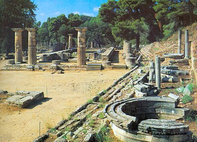 immage of the ruins of the Temple of Hera