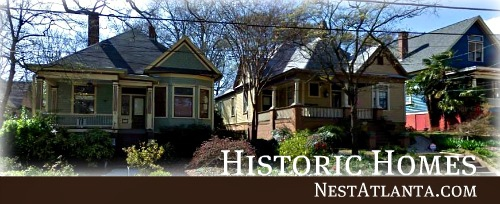 Historic atlanta neighborhoods search for historic for Historic homes for sale in georgia