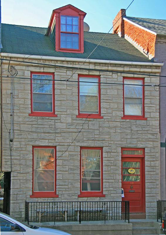 E. Orange Street Lancaster PA Townhouse