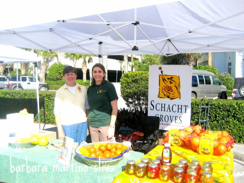 OCEANSIDE FARMER'S MARKET, VERO BEACH FLORIDA, BEACHSIDE ON SATURDAY MORNING
