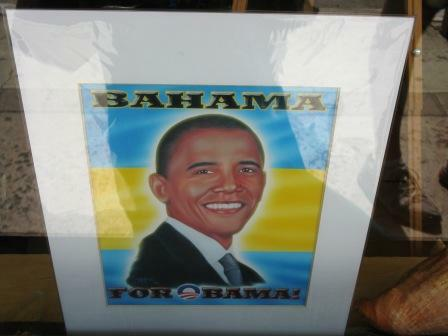 obama in the bahamas