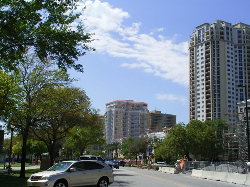 Downtown St Petersburg Florida