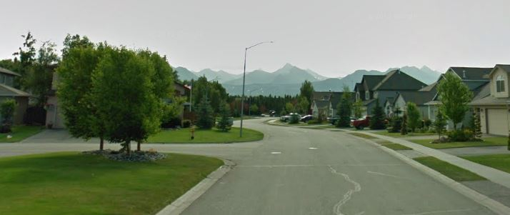 Hidden Cove Neighborhood in Anchorage AK