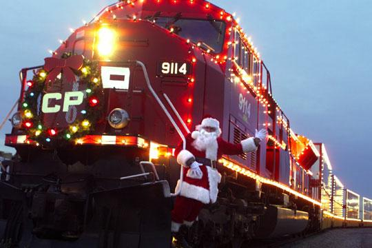 CPR Christmas Train
