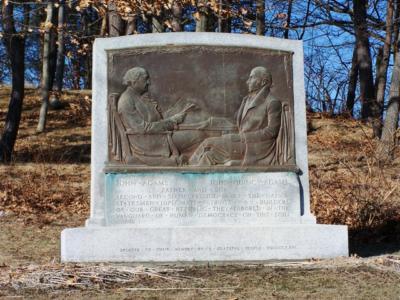 Adams Memorial in Quincy MA