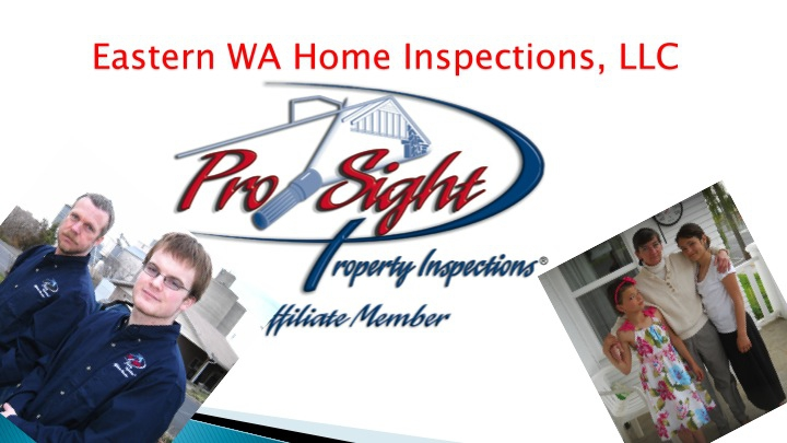 Eastern WA Home Inspections Presentation