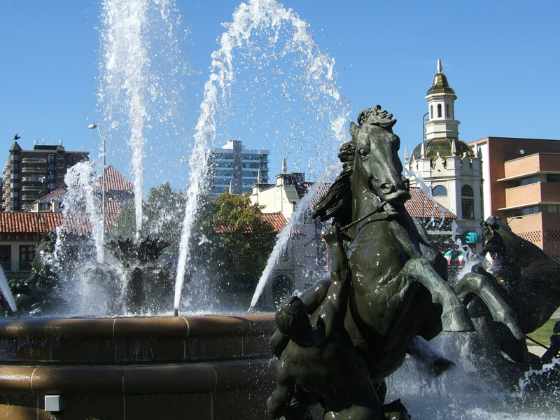 JC Nichols Fountain Kansas City MO