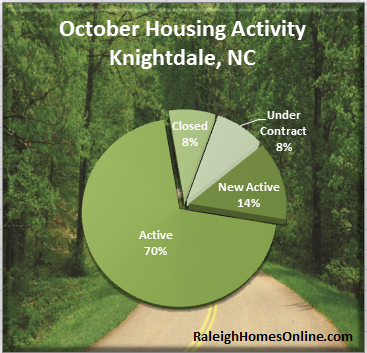 Knightdale Real Estate Activity