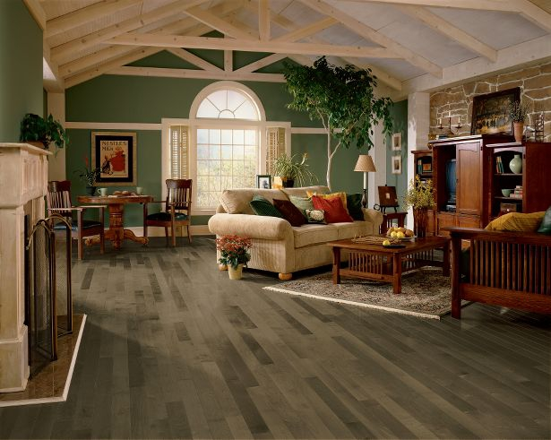gray maple hardwood floors in westchester county