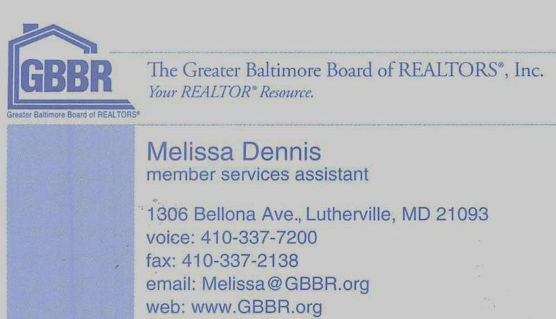 Melissa's card