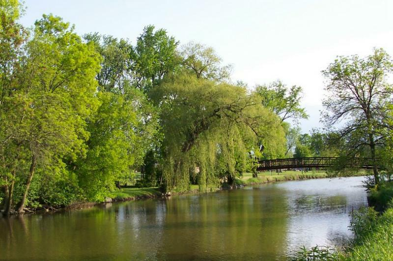 Bridge in Frame Park
