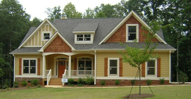 Hearthstone craftsman style homes minutes from athens for Craftsman style homes atlanta
