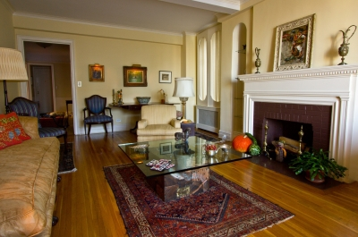 Formal Living Room in the Fall
