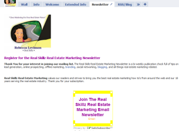 how to add a newsletter tab to facebook