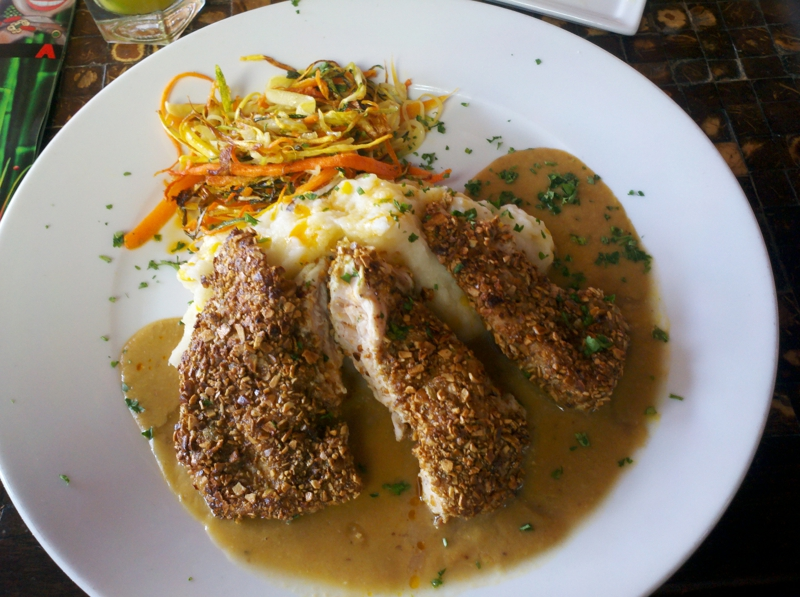 Pepita Crusted Chicken