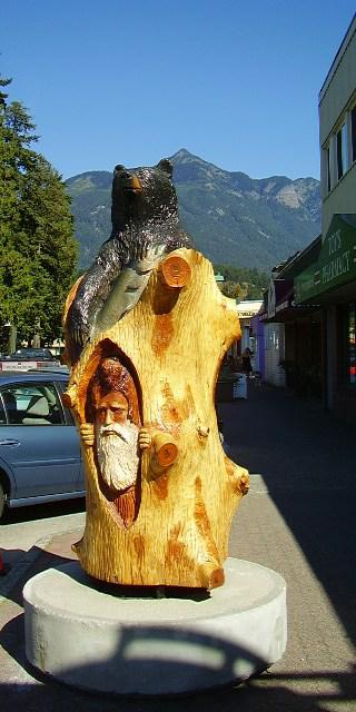 Chainsaw carving capital of the world hope b c