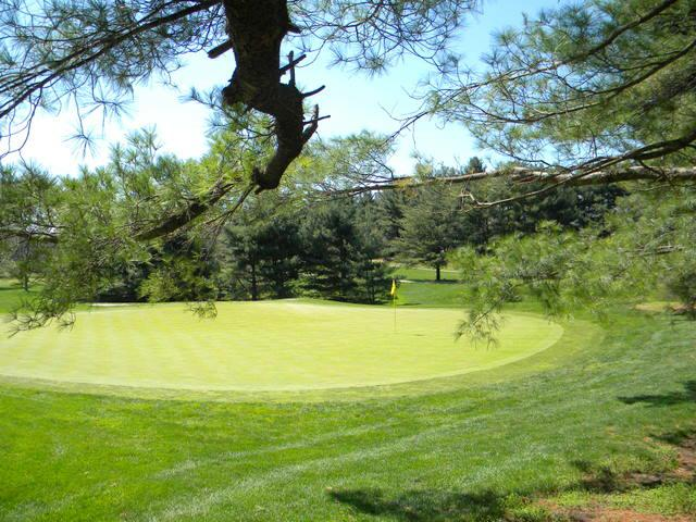 Play here! Reston surrounds two courses.