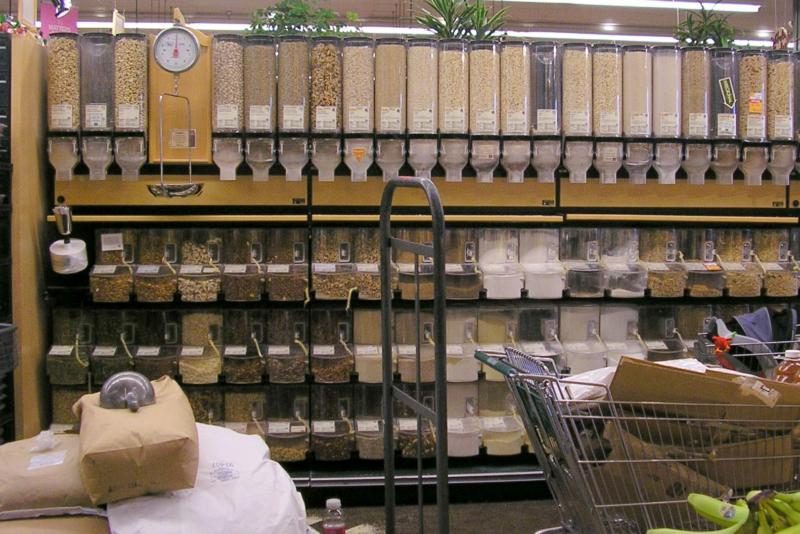 Whole Foods bulk grocery organic