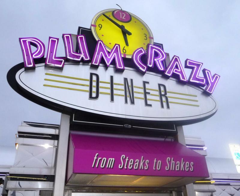 Plum Crazy Sign HomeRome.com