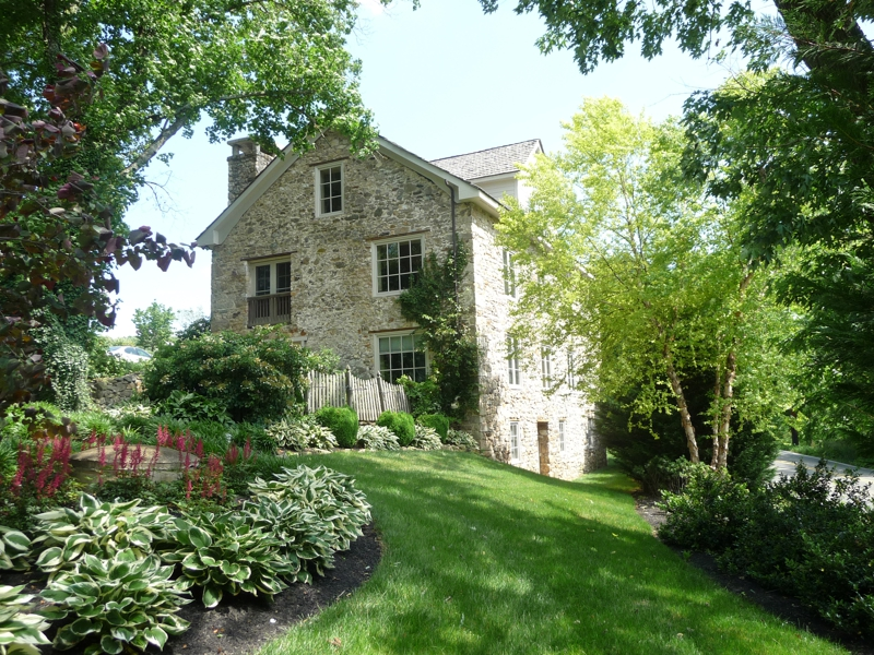 Chester county stone home