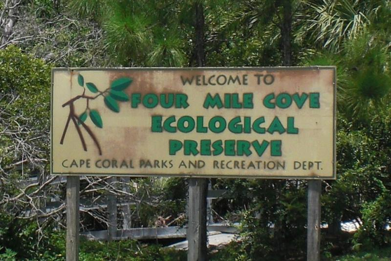 Four mile Cove Ecological Preserve