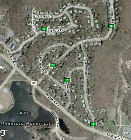 Bateswood Section of East Mountain, Waterbury Ct