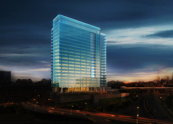 Macerich office bldg rendering Falls Church VA